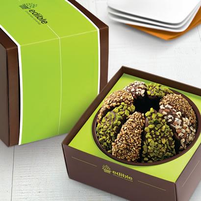 Gourmet Shareable™ Caramel Apple - Nut Lover