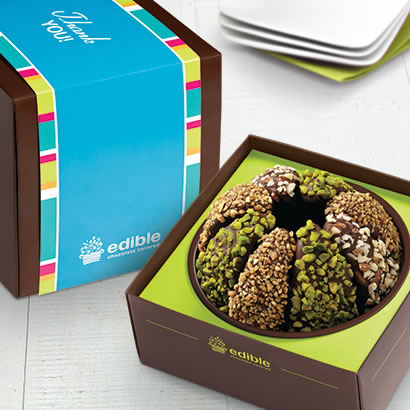Thank You Gourmet Caramel Apple - Nut Lover