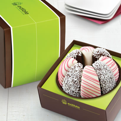 Gourmet Shareable® Caramel Apple – Pink Perfection