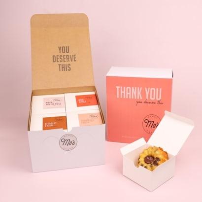 Mos Thank You Mixed Bundt Cake Box