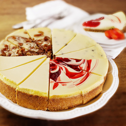 Gourmet Assortment Cheesecake