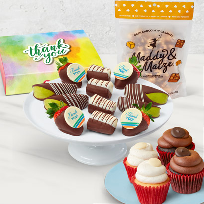 Berry Thankful Cupcake Bundle