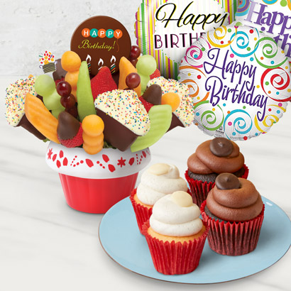 Birthday Confetti Cupcake Bundle