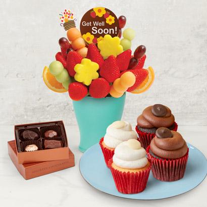Cheer Up Cupcake Bouquet
