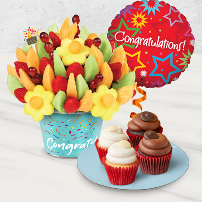 Congratulations Cupcake Bundle