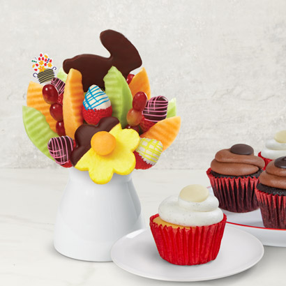 Easter Daisies & Cupcakes Bundle