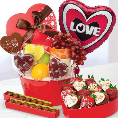 Delightful Love Gift Basket
