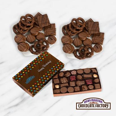 Birthday Chocolate Treats