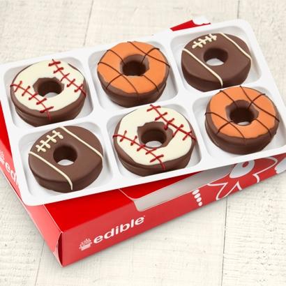 Edible Donuts Sports Mix