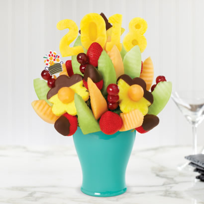 Delicious Daisy® 2016 with Dipped Strawberries & Pineapple