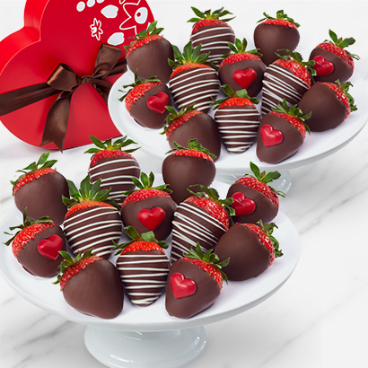 Sweet Heart Strawberries Box