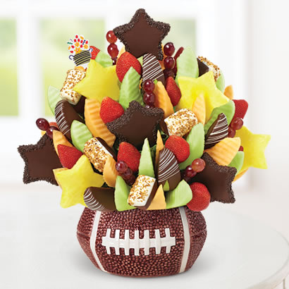 All-Star Celebration™ Caramelized Hazelnut Bananas in Football Keepsake