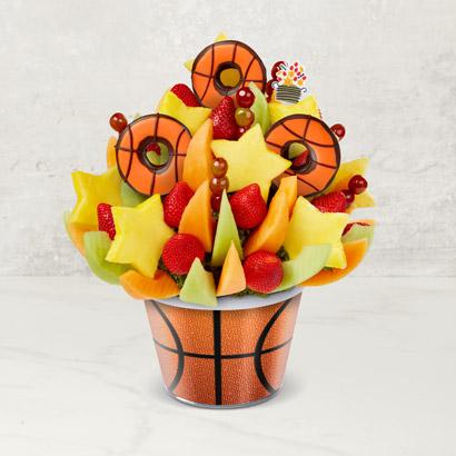 Brighten Their Day Celebration™ - Basketball Edible® Donuts