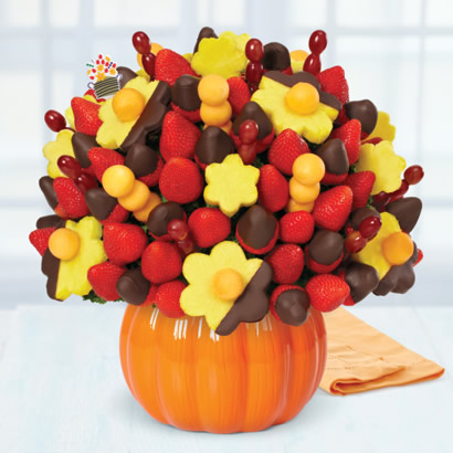 berry chocolate bouquet dipped pineapple