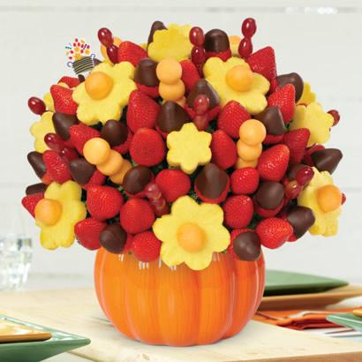 berry chocolate bouquet pumpkin keepsake