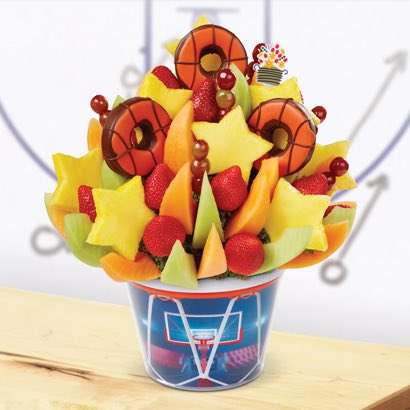 Brighten Their Day Celebration™ - Basketball Edible® Donuts