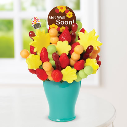 Cheer Me Up Bouquet with Get Well Chocolate Pop