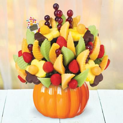 Delicious Fruit Design pumpkin container