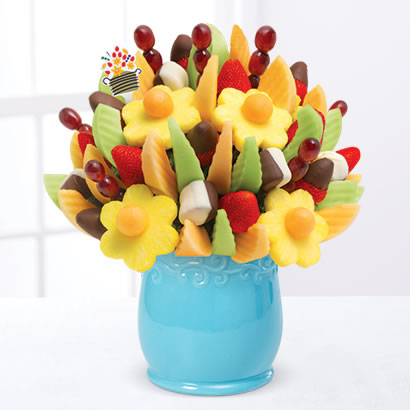 Delicious Fruit Design®  Dipped Strawberries & Bananas