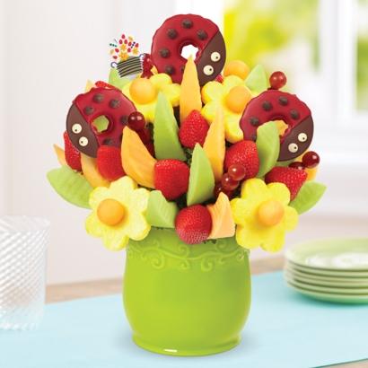 Delicious Fruit Design® - Ladybug Edible® Donuts