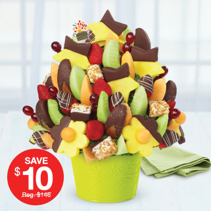 Delicious Celebration Extra Dipped Fruit Delight