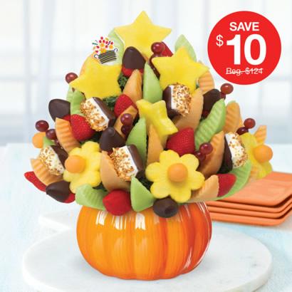 Delicious Celebration® Dipped Strawberries & Caramelized Hazelnut Crunch Bananas