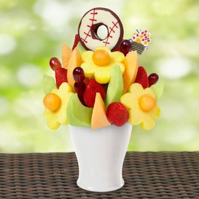 FruitFlowers® Bouquet - Baseball Edible® Donut