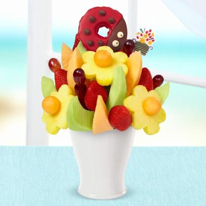 FruitFlowers® Bouquet - Ladybug Edible® Donut