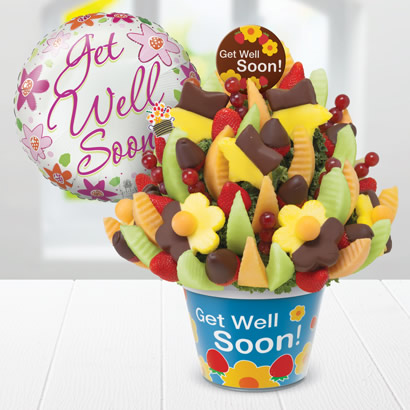 Get Well Delicious Celebration(R) Dipped Strawberries & Pineapple