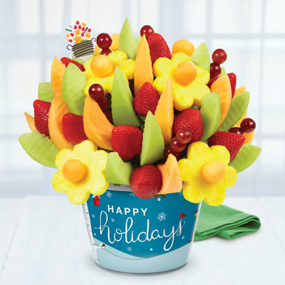 Happy Holidays Delicious Fruit Design®