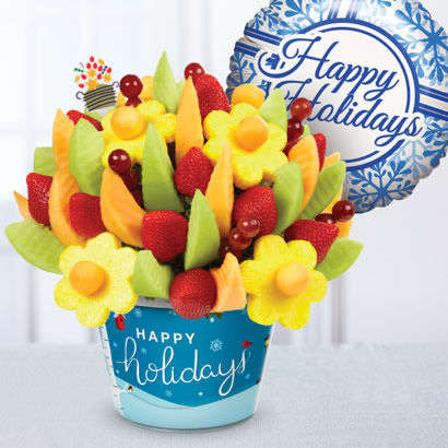 Happy Holidays Delicious Gift