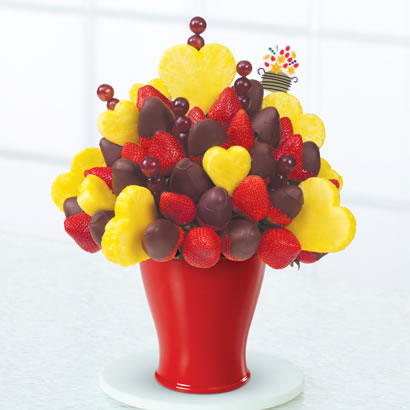 Hearts & Berries®  Dipped Strawberries