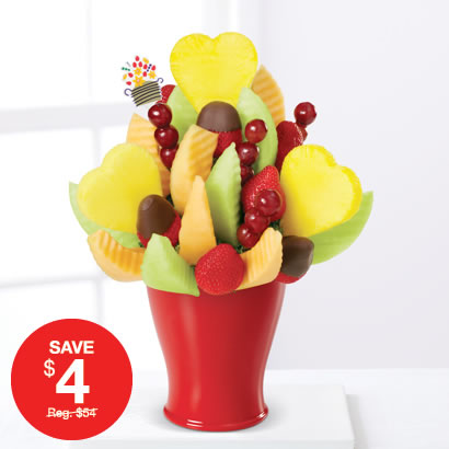Lovely Daisy™ with Dipped Strawberries