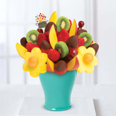 Mango Kiwi Daisy™  Dipped Strawberries
