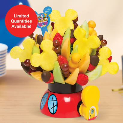 Mickey Mouse Clubhouse Party Bouquet with Dipped Strawberries