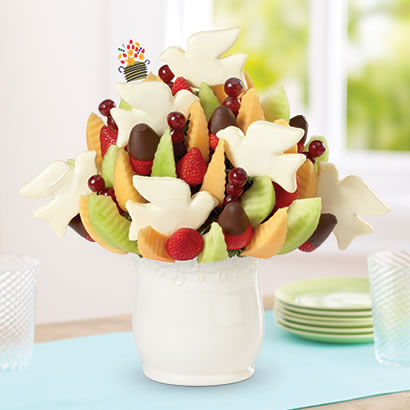 Peace & Doves Bouquet™ Dipped Strawberries