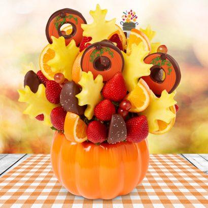 Fall Bouquet 2018 Pumpkin Donuts