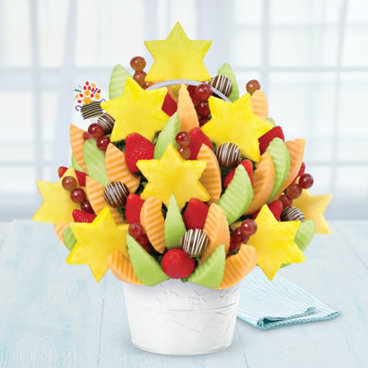 Star of David Celebration Swizzle Apple Fruit Truffles®