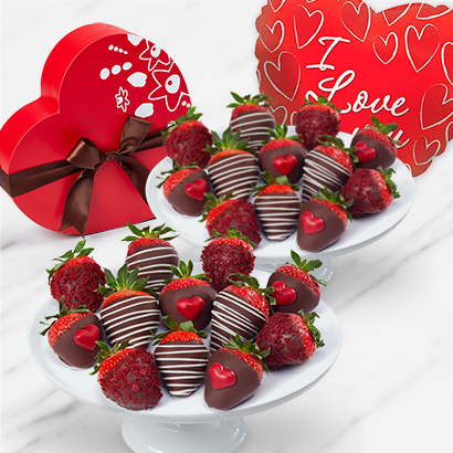 Sweet Heart Strawberries Box Bundle
