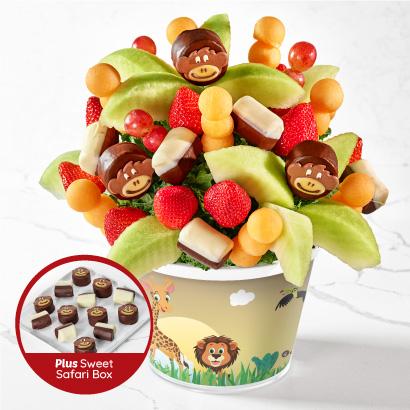 Sweet Safari with Dipped Fruit Box