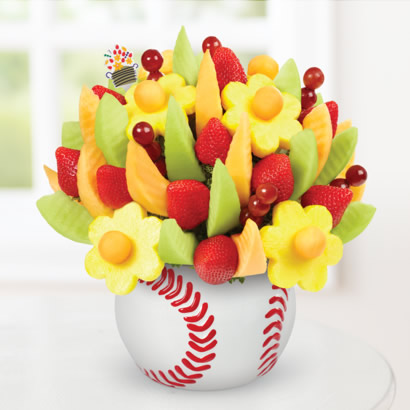 Edible Sports collection Baseball Arrangement Triple Play Bouquet™
