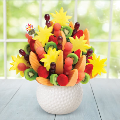 Watermelon Kiwi Summer Bouquet™ in Golf Ball Keepsake
