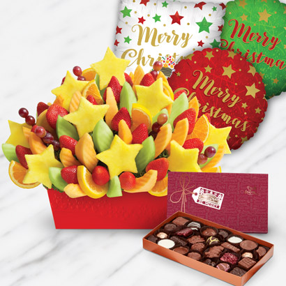 Merry & Bright Fruits & Chocolates