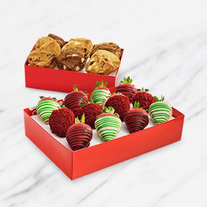 Cookies & Red Velvet Berry Bundle