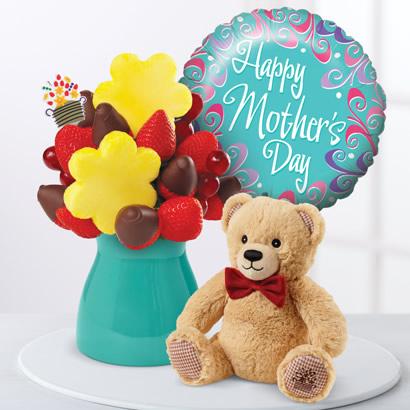 Just For You Daisy w/ Edi Bear & MDay Balloon Bundle