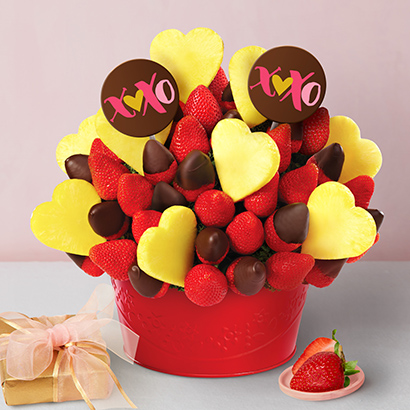 Be Mine Valentines Day Strawberry Bouquet