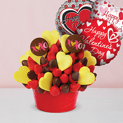 Be Mine Valentines Day Strawberry Bundle