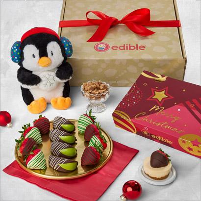 Berry Christmas Gift Box