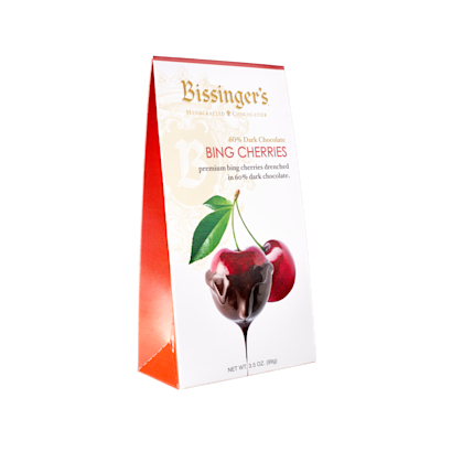 60% Dark Chocolate Whole Bing Cherries
