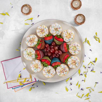 Bright Diwali Platter